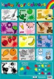 Know Your Colours Educational Poster 40x60cm
