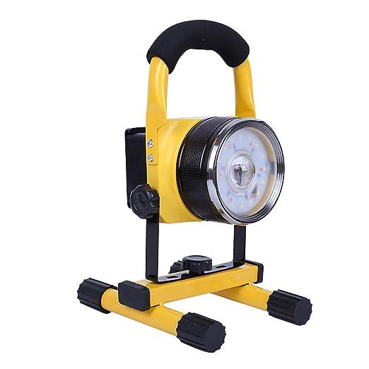Foco LED portátil 30W, 2400Lm Foco Proyector LED recargable ...