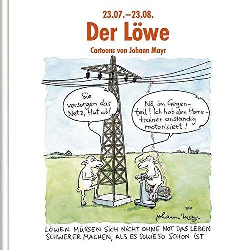 Der Löwe: Witziges Cartoon-Geschenkbuch. Lustige Satierkreiszeichen.