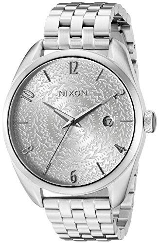 Nixon Women s A4182129 Bullet Analog Display Japanese Quartz Silver Watch