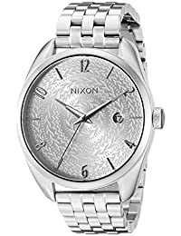 Nixon Women's A4182129 Bullet Analog Display Japanese Quartz Silver Watch