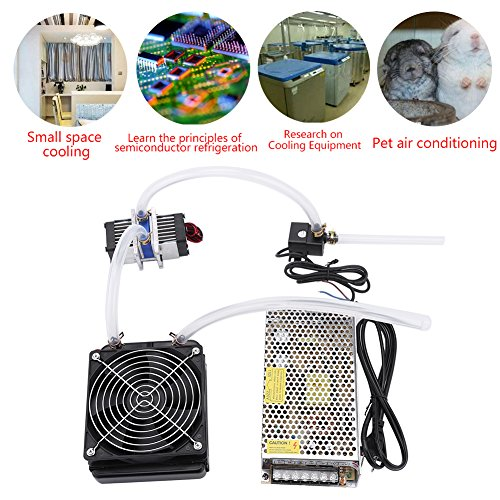 DIY 144W Dual-chip Thermoelectric Peltier Refrigeration TEC1-12706 Cooler with Water Cooling System (Single Cooler) by Walfront (Image #4)