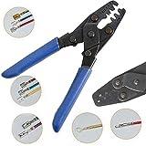 Multi-Tool Wire Stripper/Crimper/Cutter, Open Barrel Crimping Tool Molex-style Wire Stripper W/5 Different Size 22-10 AWG