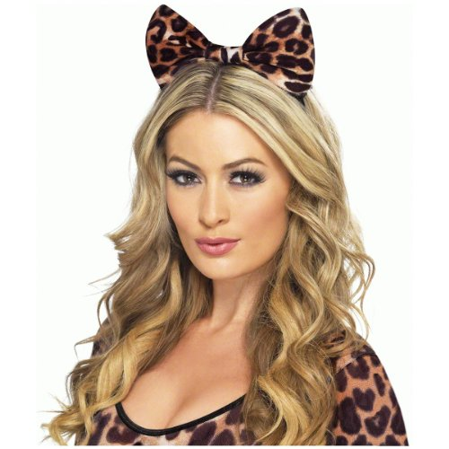 (Fever Women's Cheetah Bow Headband, Cheetah Print, One Size,)