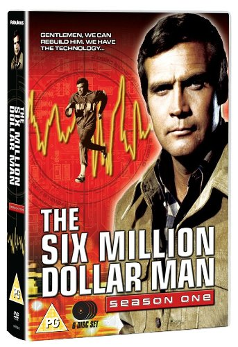 The Six Million Dollar Man: Series 1 [DVD]