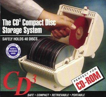 40 CD/ DVD Disc Portable Storage and Retrieval System ()