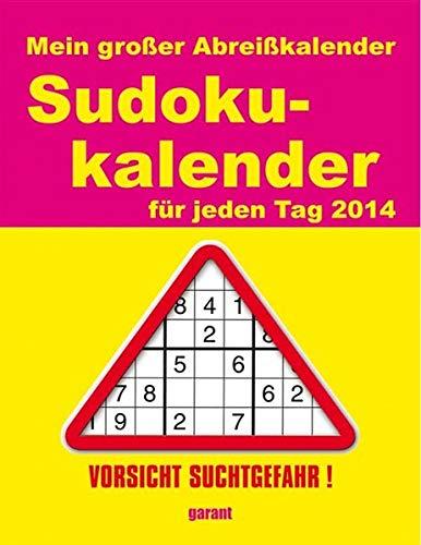 Mein großer Abreißkalender Sudokukalender 2014