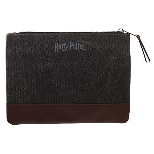 Harry Potter Pencil Case Harry Potter School Supplies - Harry Potter Accessories I Solemnly Swear That I Am Up To No Good Marauders Map Pencil Case - Harry Potter Office Supplies by Bioworld (Image #1)