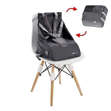 2 en 1 plegable portátil asiento de viaje multifuncional bebé hombro mochila pañales bolsa para bebé