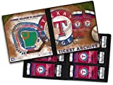 Texas Rangers Ticket Album, Holds 96 Tickets