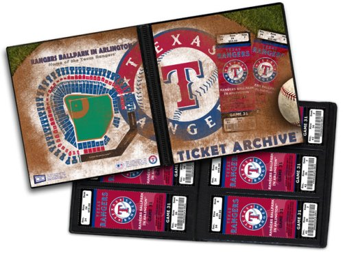 fan products of Texas Rangers Ticket Album, Holds 96 Tickets