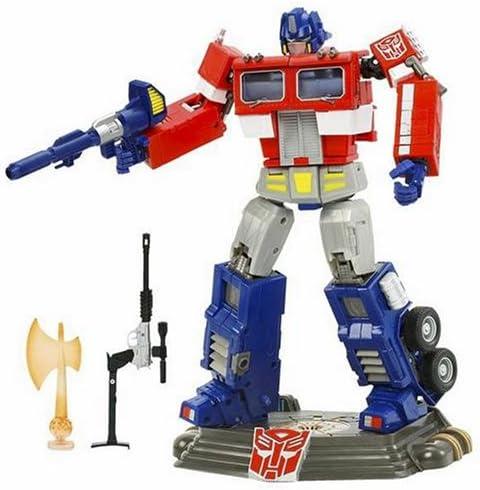 Transformers 20th Anniversary DVD Edition Optimus Prime