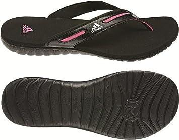 Adidas Calo 4 W Flip Sandale black ultra pink 40,5