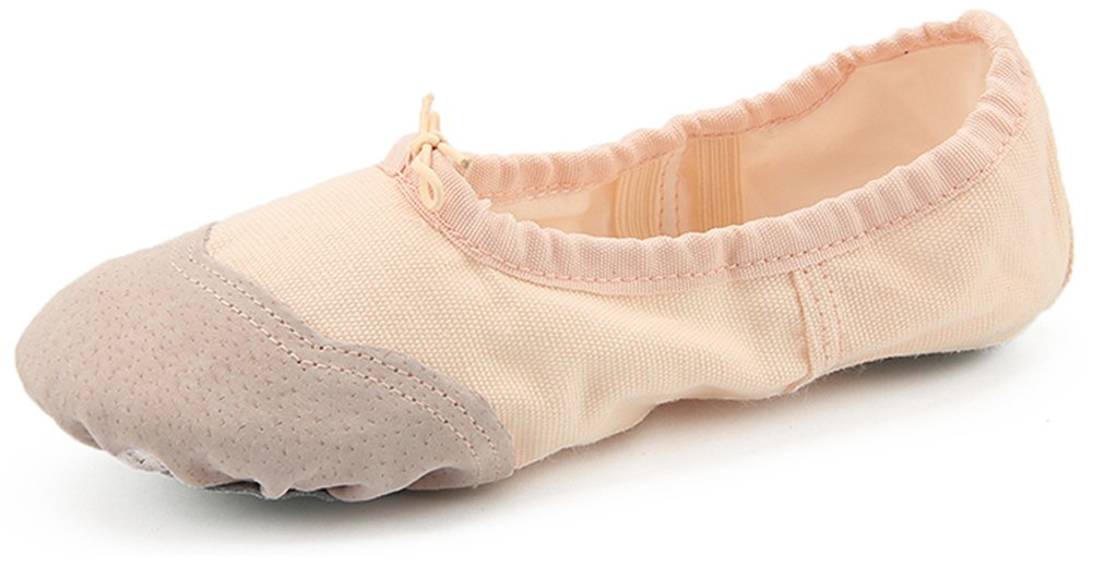 Dreamone B01NH9TBDI Chaussures de Ballet Dreamone Fille Classique Chaussures de 10160 Danse Gymnastique Yoga Ballerines Chaussons Femme Beige 4449574 - epictionpvp.space