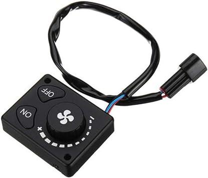 12 V24 V Standheizung Auto Heizung Schalter Controller Zubeh/ör Standheizung Controller LCD Monitor Schalter f/ür Auto Track Air Diesel