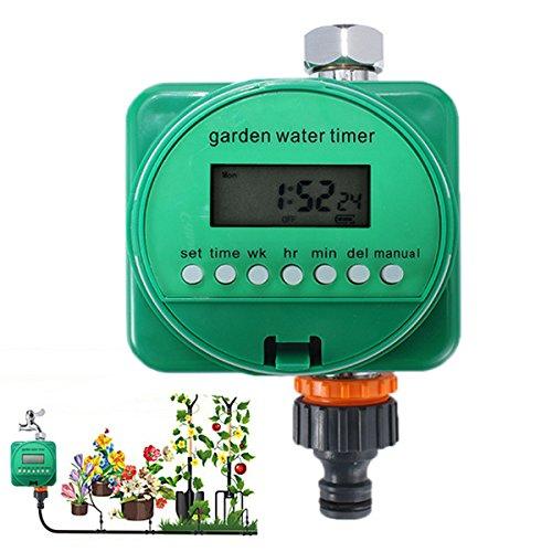Rain Sensor Automatic Watering Timer Garden Flower Plant Program Irrigation Timing Controller