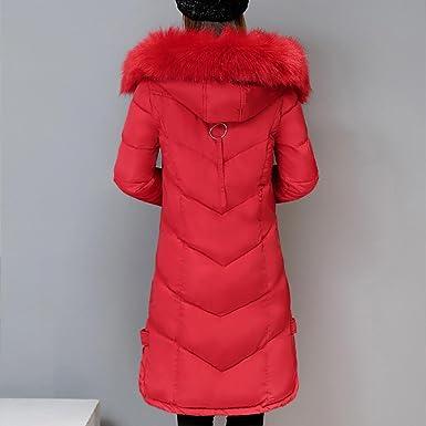 Amazon.com: AOJIAN Women Winter Casual Thicker Slim Down Lammy Jacket Long Coat Overcoat Patchwork Outwear (Red, S): Clothing
