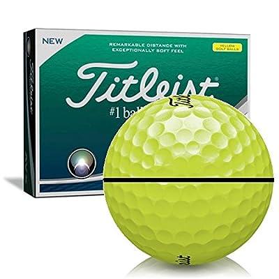 Titleist AVX Yellow AlignXL Personalized Golf Balls