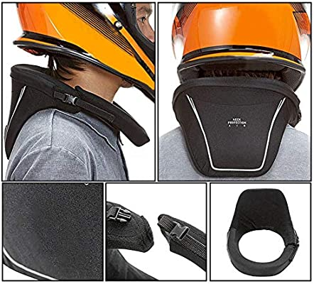 Racing Neck Brace with Neck support