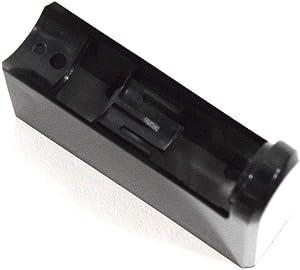 Samsung DA67-01266E Refrigerator Freezer Door Handle End Cap Genuine Original Equipment Manufacturer (OEM) Part