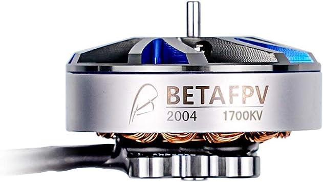 Opinión sobre BETAFPV 1pc 2004 1700KV Brushless Motor FPV 6S Motor for 4-5inch FPV Racing Drone Toothpick Quadcopter