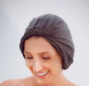 Pure 100% Silk Sleeping Hair Turban.