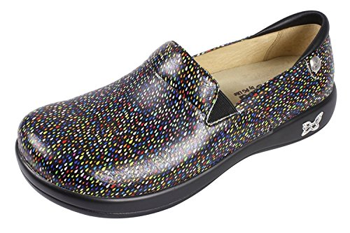 Alegria Women's Keli Professional Rainbow Rain Clog/Mule 35 (US Women's 5-5.5) Regular