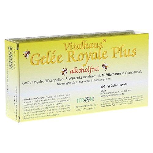 Gelee Royale Plus Ohne Alkohol Trinkampullen 20X10 ml