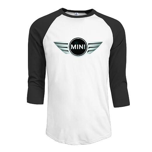 Amazoncom R Hot Mens Mini Cooper Logo Jersey Baseball T Shirt