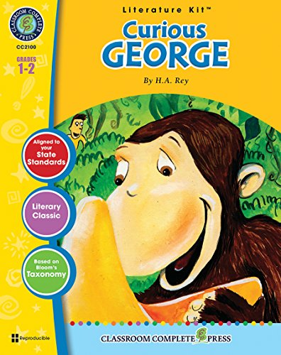 Curious George - Novel Study Guide Gr. 1-2 - Classroom Complete Press (Literature Kit)
