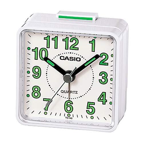(Casio- Tq-140-7Ef Beep Alarm Clock - White [Electronics])
