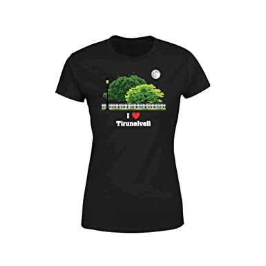 CityPostersPlus I Love Tirunelveli Women's T-Shirt: Amazon in