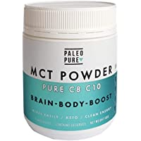 Paleo Pure C8 C10 MCT Powder, 180 g