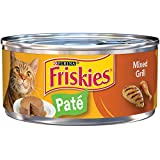 Purina Friskies Pate Mixed Grill Cat Food - (24) 5.5 oz. Pull-top Can