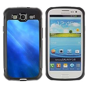 Pulsar Defender Series Tpu silicona Carcasa Funda Case para SAMSUNG Galaxy S3 III / i9300 / i747 , Nature Fish Friends