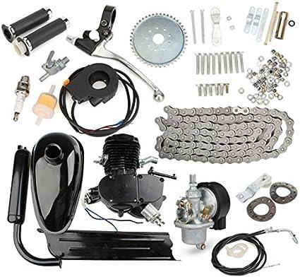Viviance 80Cc 2-Stroke Bicicleta Motorizada Motor Negro Body ...