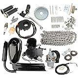 Generic 80cc 2-Stroke Cycle Motorized Bike Black Body Engine Motor Kit One piece