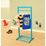 kid clothes rack - Home Craft Kids' Clothes Rack, Blue