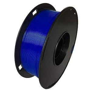NOVAMAKER 3D ABS-1KG1.75-BlE ABS 3D Printer Filament, Dimensional Accuracy +/- 0.03 mm, 1 kg Spool, 1.75 mm, Blue