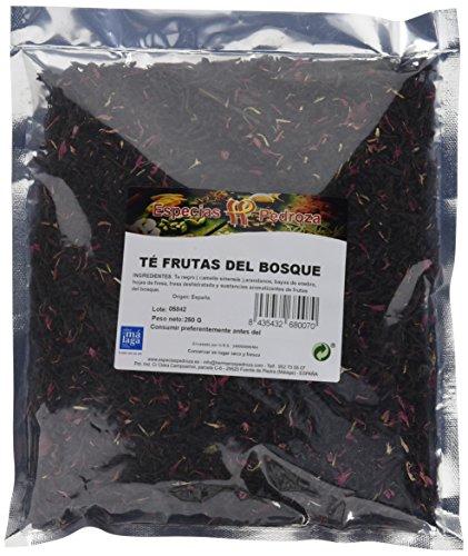 Especias Pedroza Te Frutas del Bosque - 2 Paquetes de 250 gr - Total 500 gr