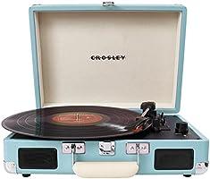 Crosley Radio Cruiser Portable Turntable, Turquoise