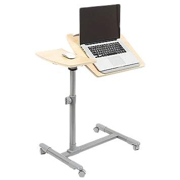 Conveniente La Mesa de la computadora Mesita de Noche móvil Un ...