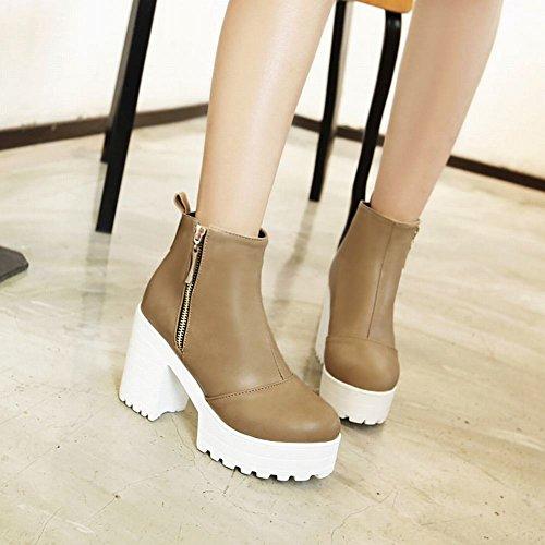 Short Donna Boots Elegante Albicocche Misssasa gwpEqdp
