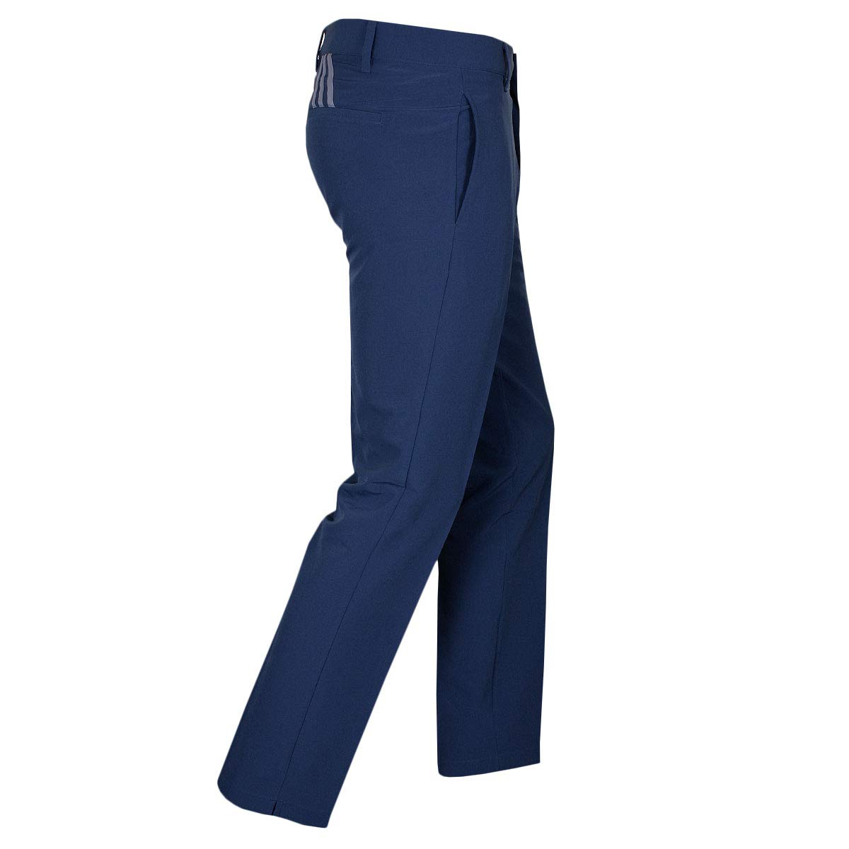 0630cdf1bd1d Amazon.com   adidas Golf 2019 Ultimate 3-Stripe Trousers Stretch Mens  Performance Pant Tapered Leg   Sports   Outdoors