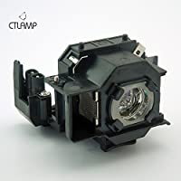 Replacement projector lamp ELPLP34 / V13H010L34 for Epson EMP 62 / EMP 62C / EMP 63 / EMP 76C / EMP 82 / EMP 82C / EMP X3 PROJECTORs