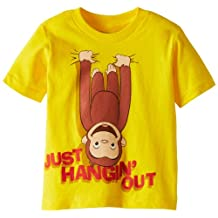 Curious George Little Boys' Just Hanging Out T-Shirt