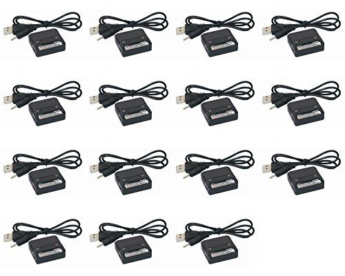 15 x Quantity of The Flyer's Bay Beetle Quad-Copter Dual Lipo 3.7v USB Battery Charger any mAh Auto Shut Off - FAST FROM Orlando, Florida USA! by HobbyFlip