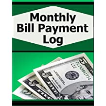 Monthly Bill Payment Log