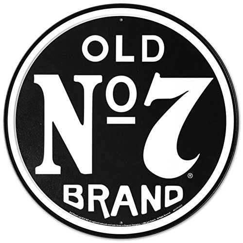 - Jack Daniels Old Number 7 Tin Sign 12 x 12in