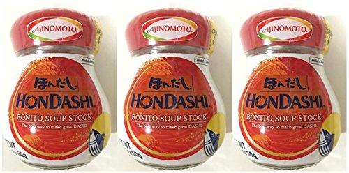 Ajinomoto Hondashi Bonito Soup Stock 2.11 oz (Pack of 3)